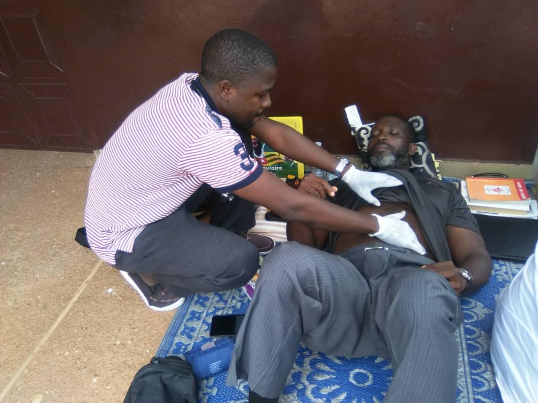 Togo: Nicodème Habia finalement évacué dans une clinique de la place
