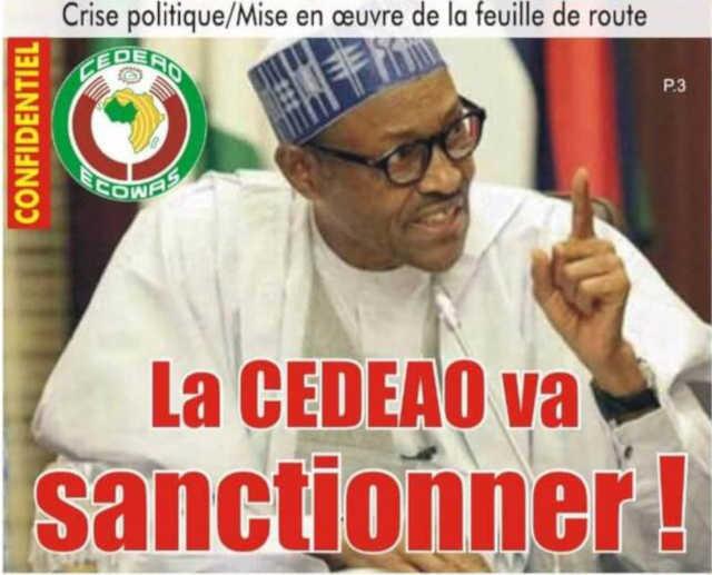 Crise politique au Togo : Mise en œuvre de la feuille de route, la CEDEAO va sanctionner ?!
