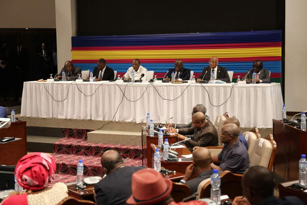 Togo-Crise/Comité de suivi: pouvoir et C14 évaluent la situation à Conakry