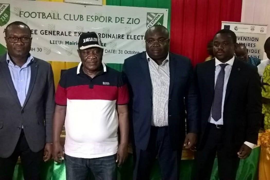 Togo/Football: Agognon Messan aux commandes d'Espoir de Zio pour 4 ans