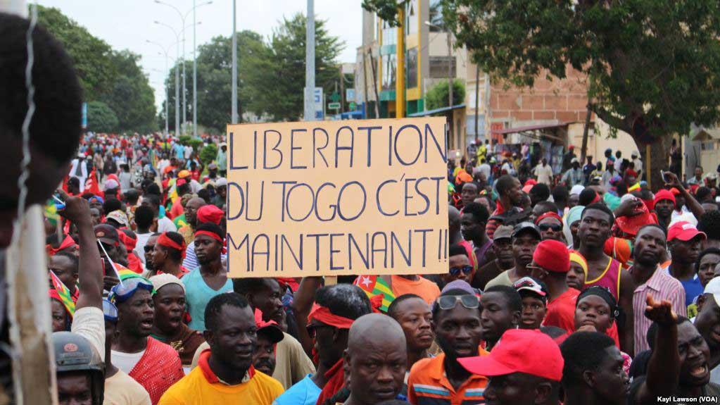 Antoine Randolph invite les Togolais à mener une lutte non violente                                                                             27 novembre 2018