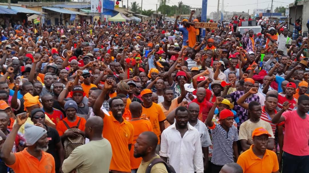 Togo / La préfecture de Bassar ferme ses portes aux manifestations de la Coalition des 14