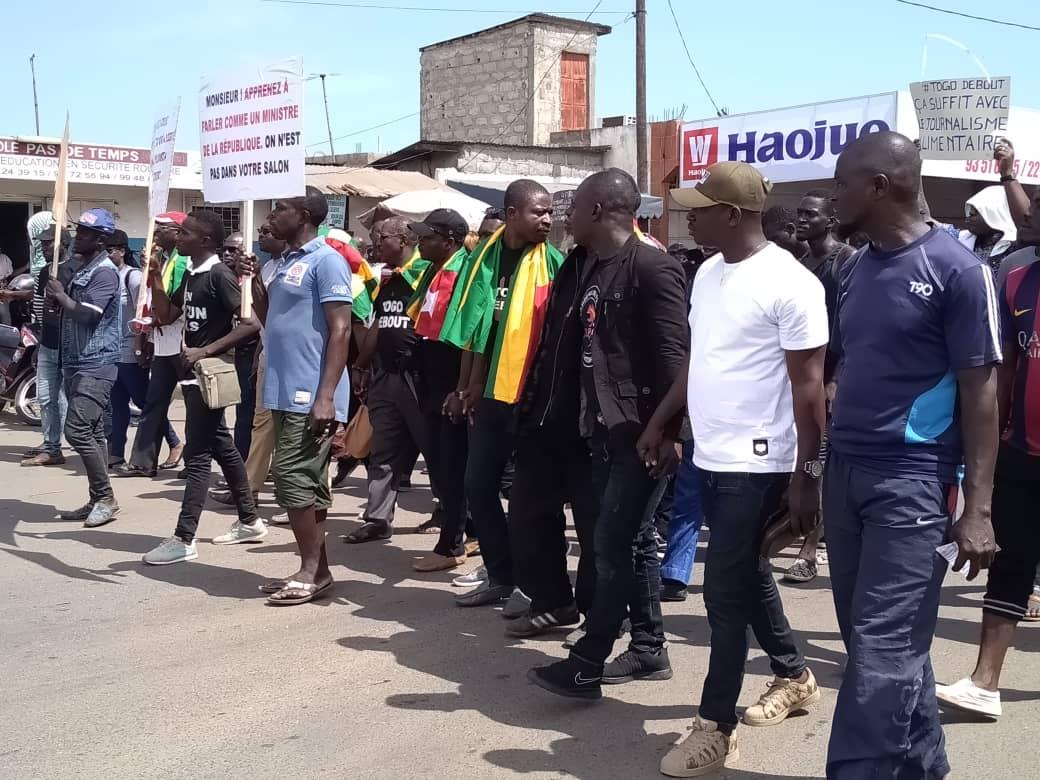 « Réformes avant les élections, c'est ce que réclament les togolais dans les rues ce samedi », Me Raphaël Kpandé-Adjaré