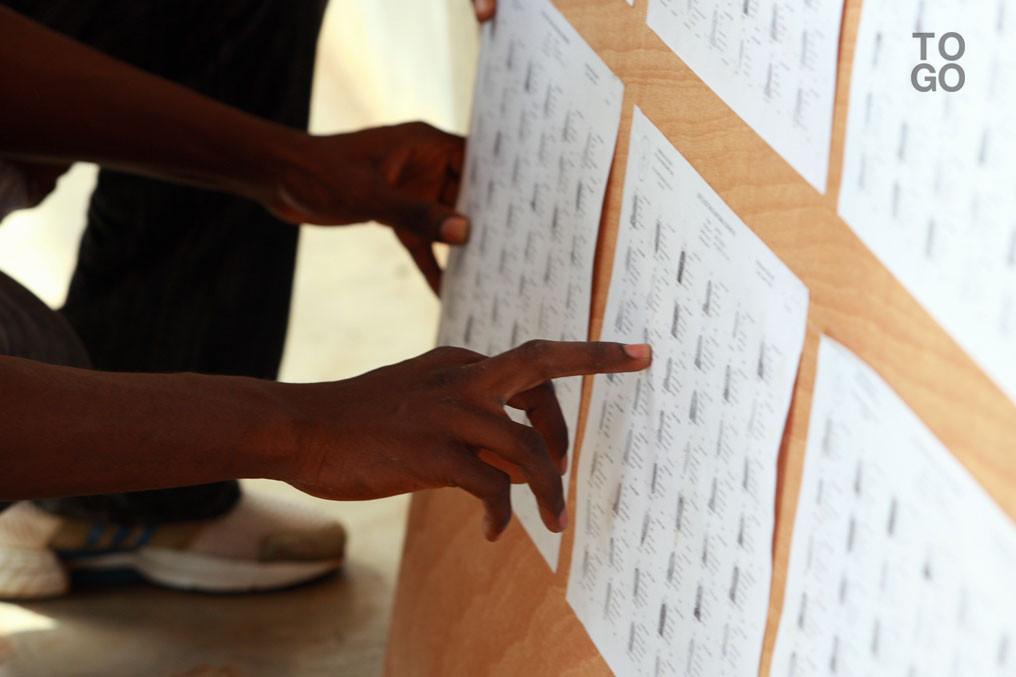 Ouverture des bureaux de vote togo tribune