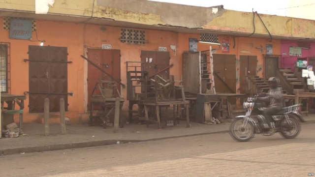 Journée « Togo mort » :  Largement Suivie à Sokodé, Dapaong et autres villes de l'intérieur, partiellement à Lomé.