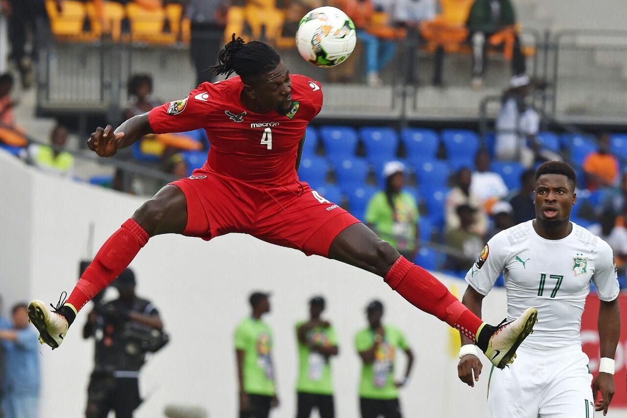 Football / Denkey Kevin décidé à suivre les pas de son mentor Emmanuel Adebayor