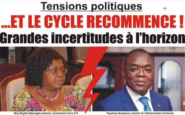 Togo, Tensions politiques : Et le Cycle Recommence. Grandes Incertitudes à l'horizon !
