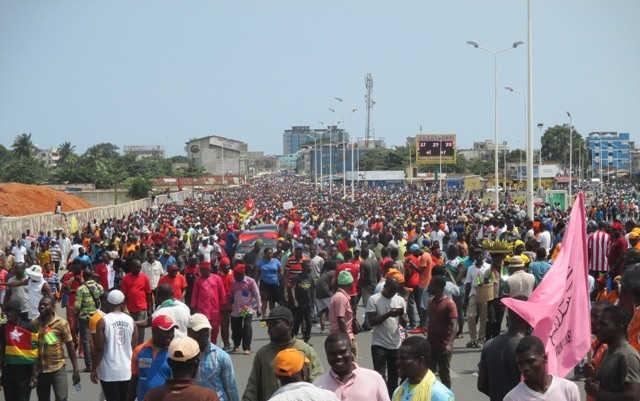 Togo, C14 : Itinéraires des Grandes Marches de Protestation du 12 janvier 2019 [Communiqué]