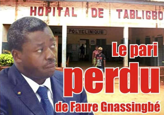 Togo, 4e mandat/Projets tous azimuts : Le Pari Perdu de Faure Gnassingbé !