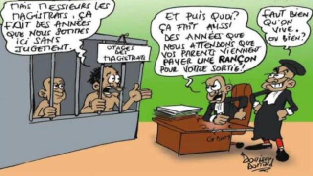 Corruption au sein de la Justice : Les Prévenus, des Otages de Magistrats dans les Prisons civiles du Togo
