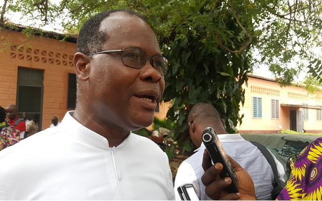 Père Affognon : « Il faut qu'on arrête cette bipolarisation de la vie sociale au Togo »
