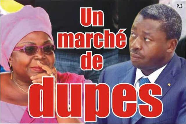Togo : Rencontre Faure-C14, Un marché de dupes
