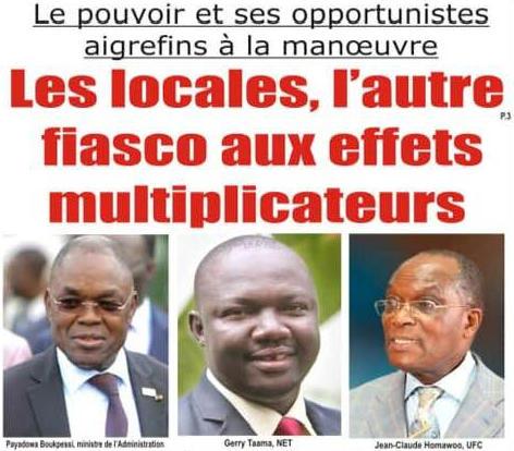 Togo, Le pouvoir et ses Opportunistes aigrefins à la manœuvre : Les locales, l'autre fiasco aux effets multiplicateurs