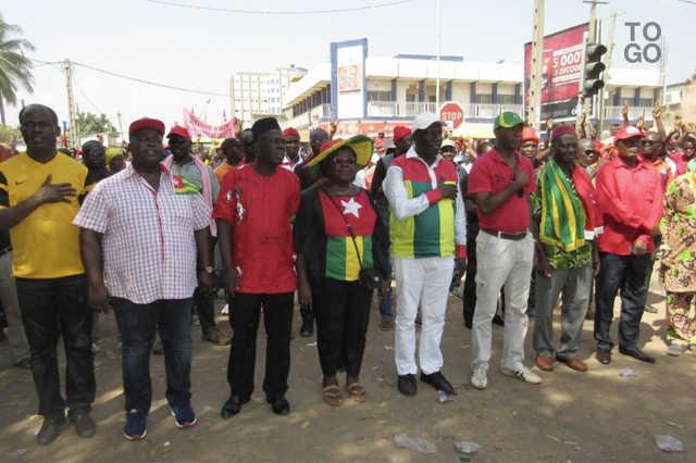 Togo :  Au nom des chapelles, la C14 a vécu