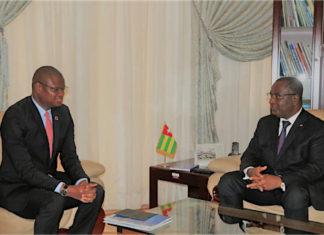 Le Premier ministre s'est entretenu avec le nouveau représentant résident du Pnud
