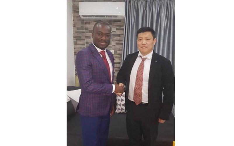 Signature d'un accord de représentation entre China Machinery Engineering Corporation et UK Holding Investment Group