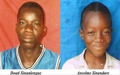 Elèves et étudiants commémorent les 6 ans de l'assassinat de Anselme Sinandare et Douti Sinalengue