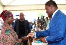 Le Chef de l'Etat étend à Timbou les transferts monétaires à 61 000 ménages