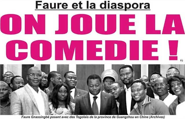 Togo, Faure et la Diaspora : On Joue la Comédie !