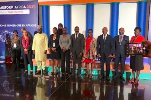 La ministre de l'économie numérique a pris part à Kigali au 1er conseil des ministres des TIC
