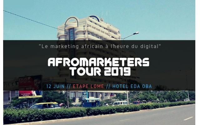 L'AfroMarketers Tour 2019 fait escale à Lomé le 12 juin