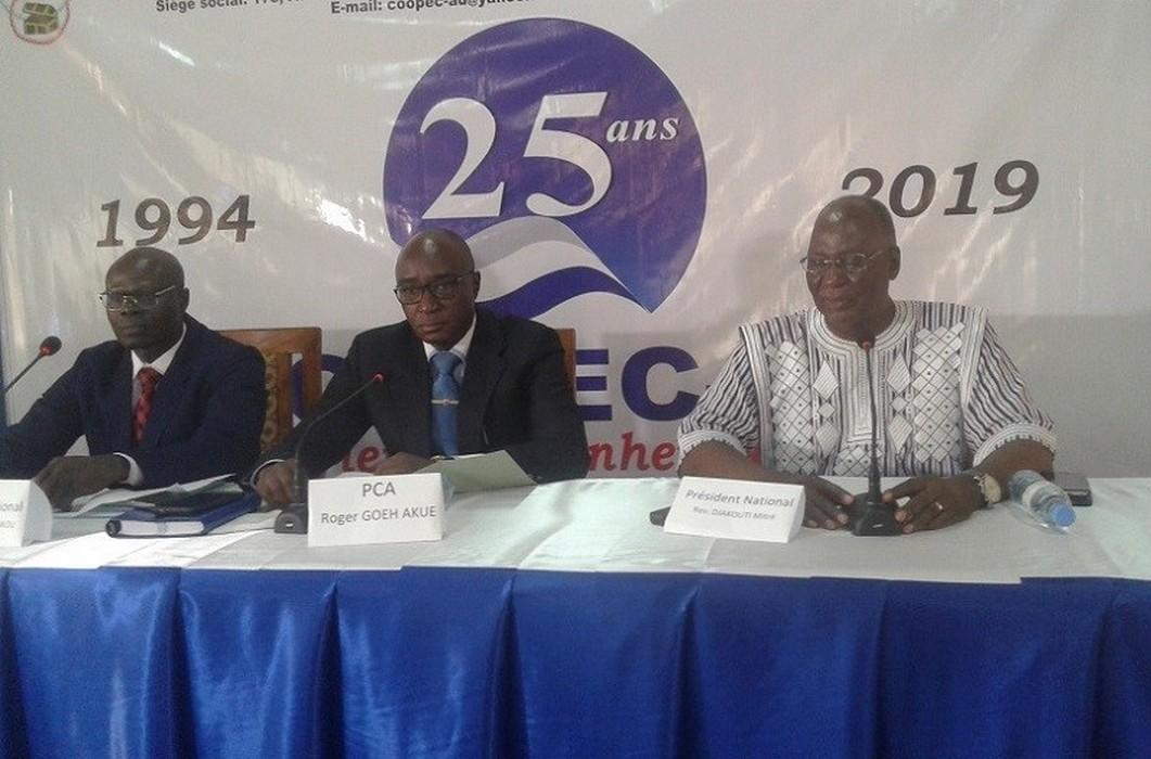 Togo: 25 ans d'existence, 28 agences créées, plus de 140 mille membres.., la COOPEC-AD dit merci à DIEU