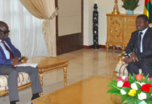 Le Chef de l'Etat s'est entretenu avec le ministre ghanéen de la sécurité