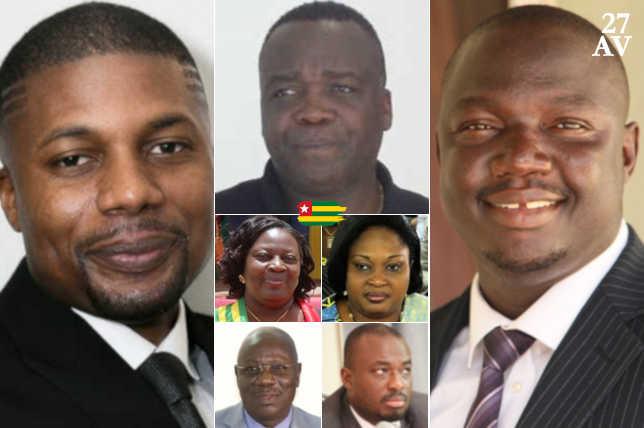 Togo : Les députés Nommés auteurs du Vrai « Charcutage » de la Constitution, les Voici.