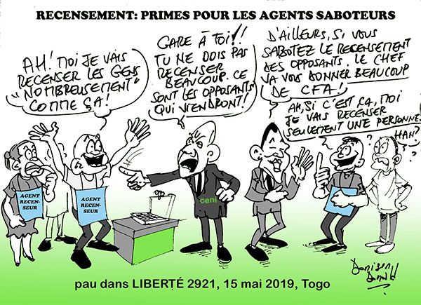 Togo, Révision des listes électorales : Un seul kit par centre, lenteur criarde des machines et des OPS…