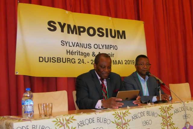 Symposium Sylvanus Olympio : Déclaration, Résolutions et Recommandations