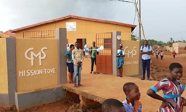 Le nouveau centre médico-social de Mission Tové remis aux populations
