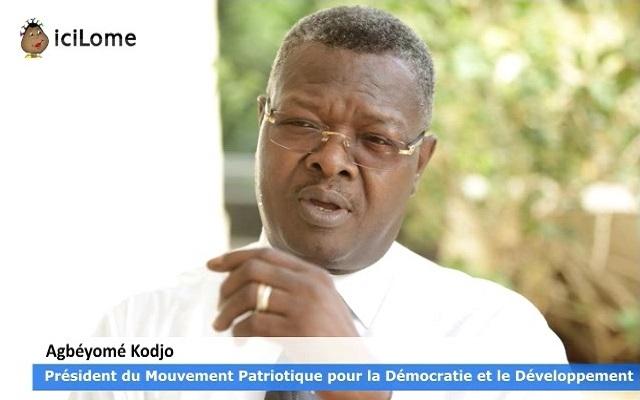 Locale 2019 : Le MPDD apportera le bien-être aux Togolais, dixit Agbéyomé