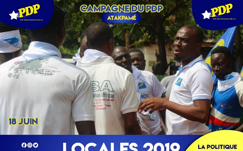 Municipales : La caravane du PDP à Notsè et Atakpamé