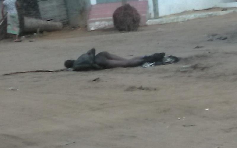 Un présumé voleur de moto brûlé vif à Avepozo à Lomé