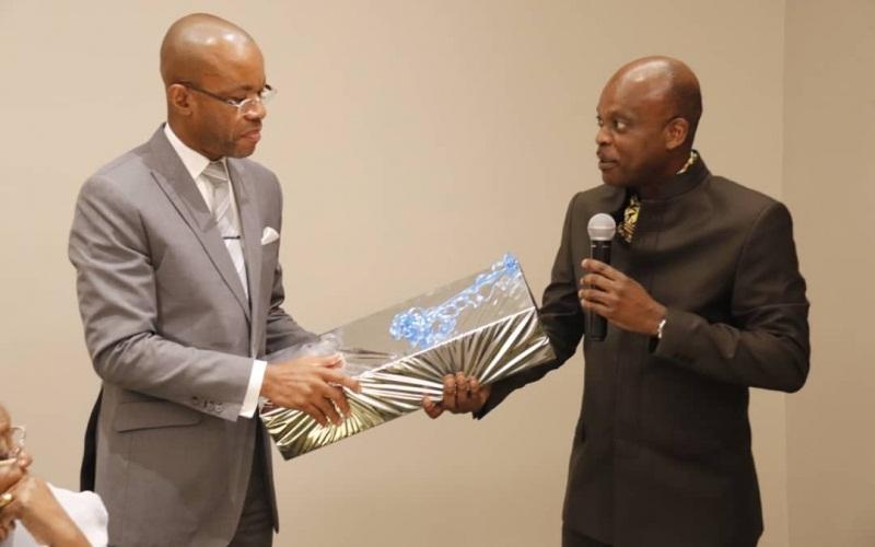 Les adieux du Togo à Sylver MINKO MI-NSEME, Ambassadeur du Gabon en fin de mission au Togo