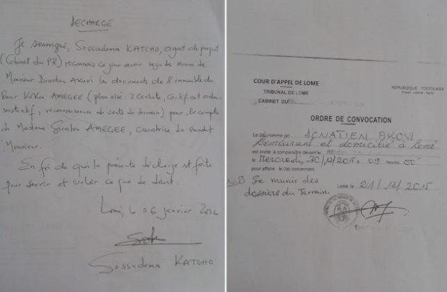 Togo, Affaire Victor Vinyo Amegee : Où sont passés les documents de l'immeuble remis au cabinet du Procureur de la République Poyodi ?