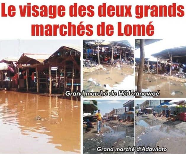 Togo, la Faillite du régime Faure / RPT-UNIR : Le visage des deux grands marchés de Lomé