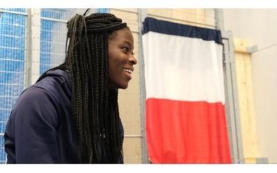 Hilary Kpatcha, championne d'Europe espoirs en saut en longueur
