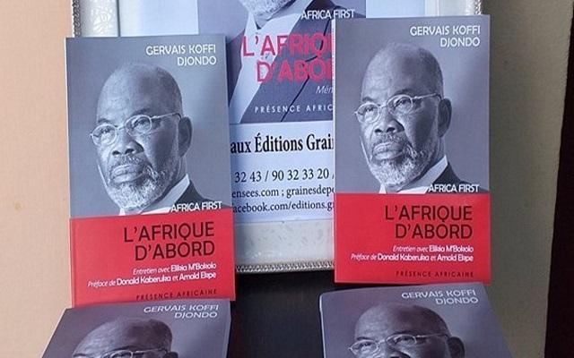 « L'Afrique  d'abord », le tout nouveau livre de Gervais Djondo