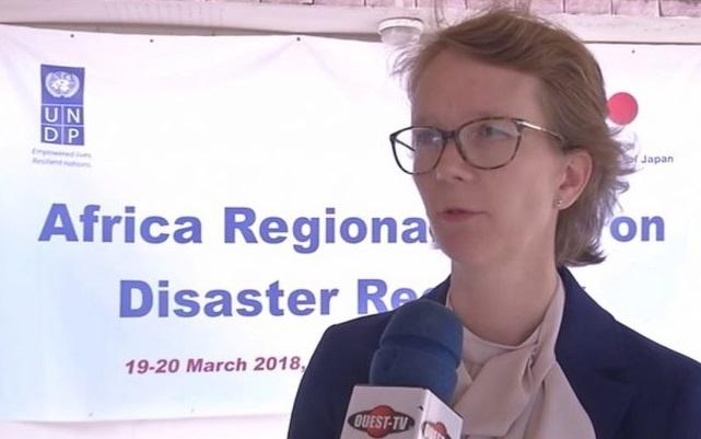 La Coordinatrice régionale du Programme de volontariat de l'ONU séjourne  à Lomé