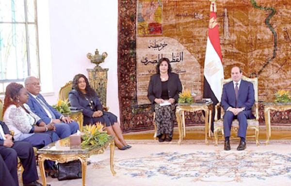 Abdel-Fattah El-Sissi : «l'Egypte soutient pleinement les efforts de développement du Togo»