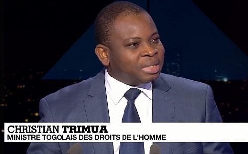 Christian Trimua : « John Bri » à Lomé, pétard mouillé à Genève