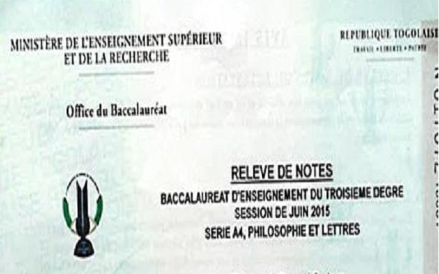 Relevés de note erronée du Bac II : Les frais de rectification fâchent les parents d'élève