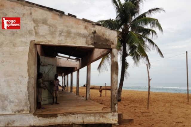 Togo :  L'EPP Baguida 4 menacée par l'érosion côtière