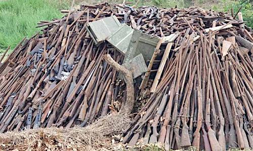 Journée internationale de la Paix : le Togo détruit 2300 armes et 10 000 munitions