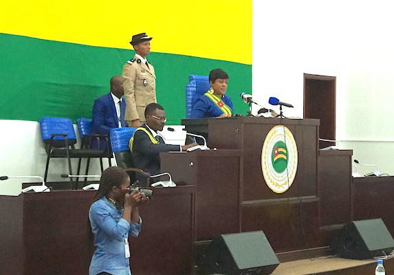 Ouverture de la deuxième session ordinaire de l'Assemblée nationale