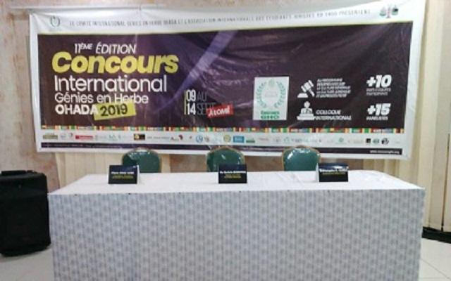 Concours international génies en herbe OHADA : Le Togo à la quête de sa 3è étoile