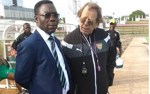 Le ministre des Sports visite les Eperviers avant leur départ pour le stade