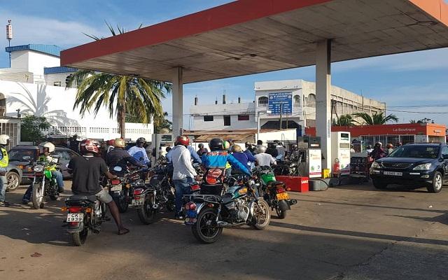 Pénurie de carburant à Lomé