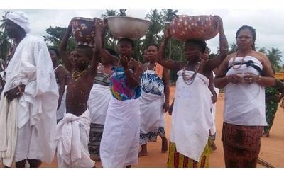 Retour aux sources des natifs d'Akoumapé